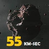 55 km-sec (2020)