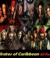 Pirates of Caribbean (Film Series) All Parts